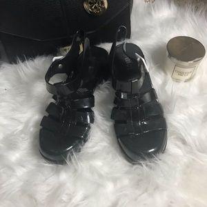 Shoes - Rouge BLACK SANDLES